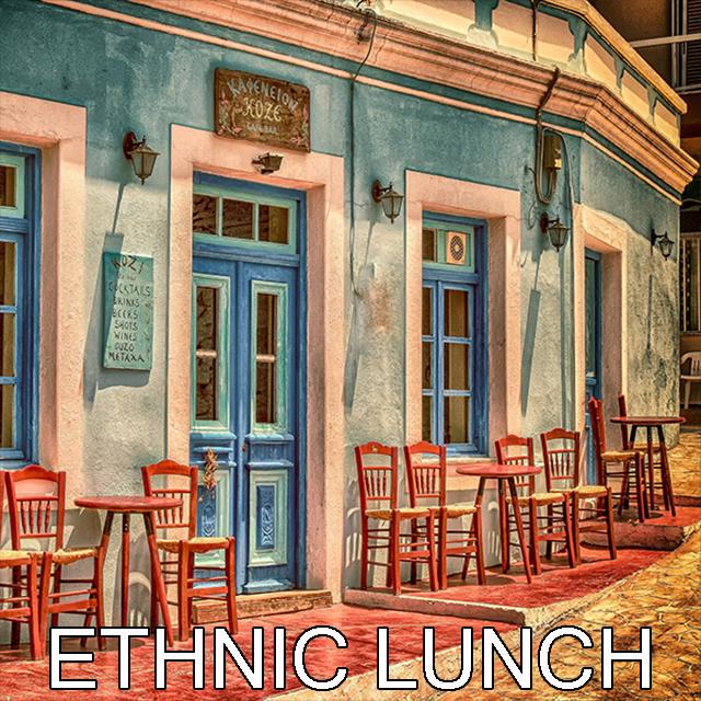 Ethnic Lunch Spotify Playlists