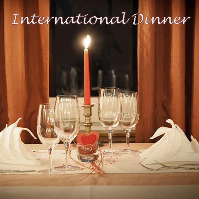International Dinner for Restaurants Spotify Playlists